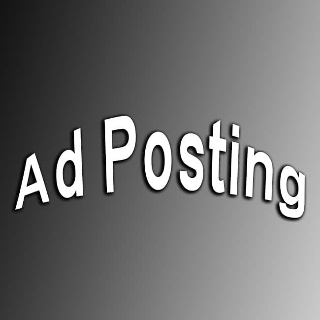 Buy Ad Posting