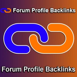 Forum Profile Backlinks