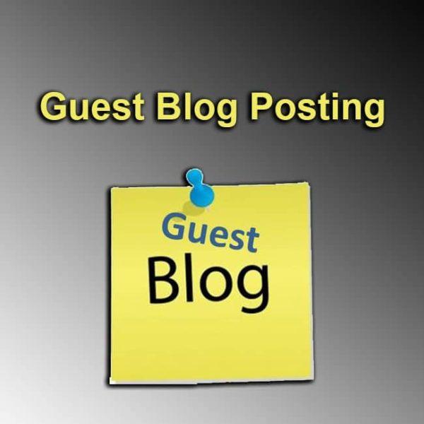 Guest Blog Posting
