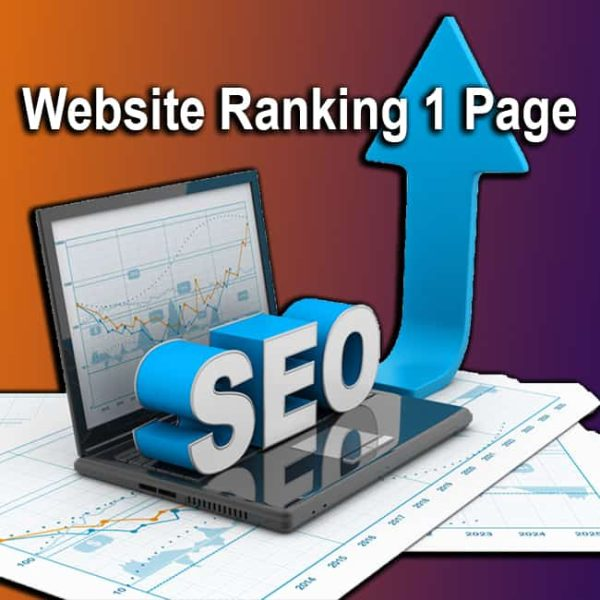 Website Ranking 1 Page