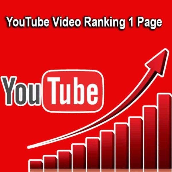 YouTube Video Ranking 1 Page